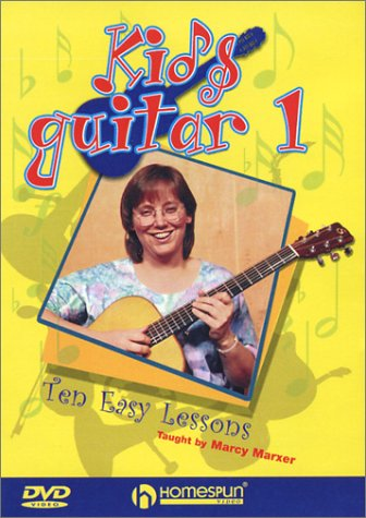 Kid's Guitar, Vol. 1: Ten Easy Lessons: Taught By Marcy Marxer DVD Image