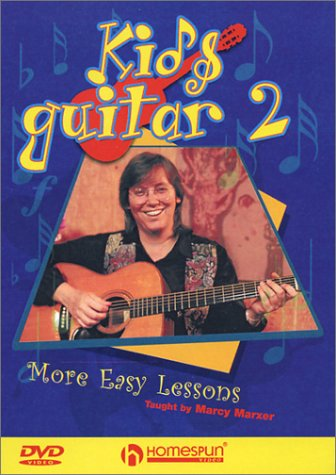 Kid's Guitar, Vol. 2: More Easy Lessons: Taught By Marcy Marxer DVD Image