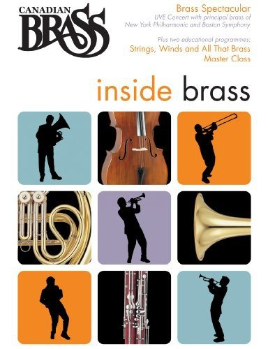 Canadian Brass: Inside Brass: Strings, Wind And All That Brass / Master Class / Brass Spectacular DVD Image