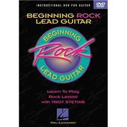 Beginning Rock Lead Guitar: Learn to Play Rock Leads DVD Image