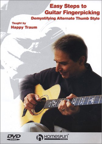 Easy Steps To Guitar Fingerpicking, Vol. 1: Demystifying Alternate Thumb Style DVD Image