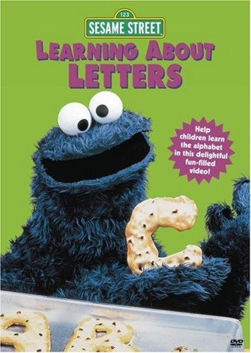 Sesame Street: Learning About Letters DVD Image