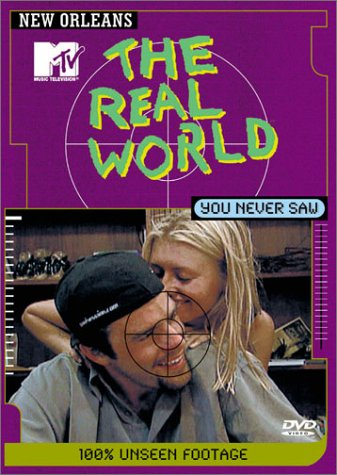 MTV: The Real World You Never Saw: New Orleans DVD Image