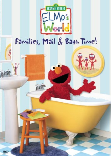Sesame Street: Elmo's World: Families, Mail, And Bath Time DVD Image