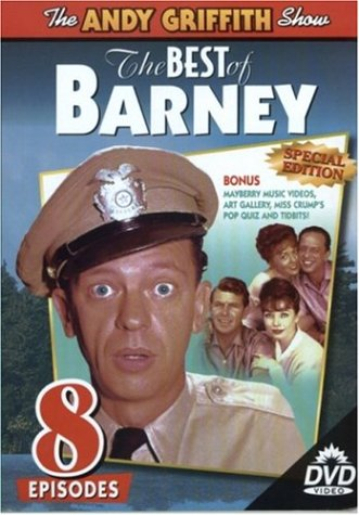 Andy Griffith Show (United American): Best Of Barney DVD Image