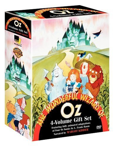 Wizard Of Oz Animation Collection: Wonderful Wizard Of Oz / Emerald City Of Oz / Marvelous Land Of Oz / Ozma Of Oz DVD Image