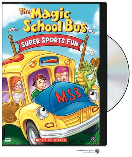 Magic School Bus: Super Sports Fun DVD Image