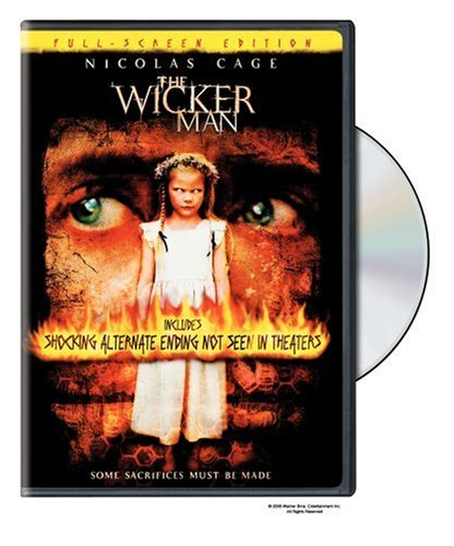 Wicker Man (2006/ Pan & Scan/ PG-13 Version/ Unrated Version) DVD Image