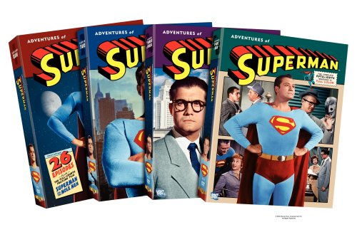 Adventures Of Superman: The Complete 1st - 6th Seasons DVD Image