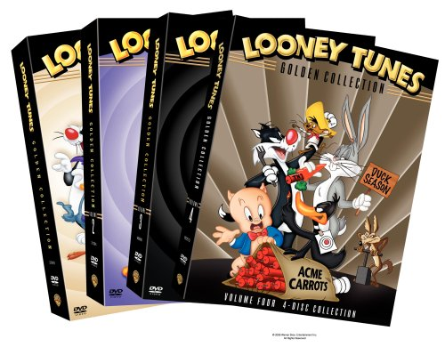 Looney Tunes: The Golden Collection, Vol. 1 - 4: Baseball Bugs / Rabbit Seasoning / Long-Haired Hare / High Diving Hare / ... DVD Image