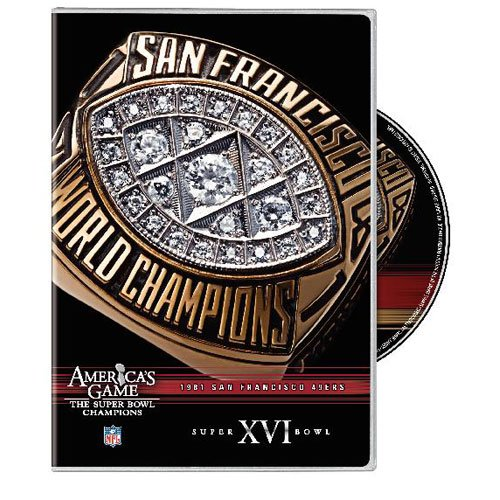 NFL: America's Game: San Francisco 49ers Super Bowl XVI DVD Image