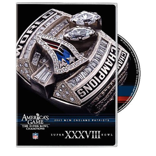 NFL: America's Game: New England Patroits Super Bowl XXXVIII DVD Image