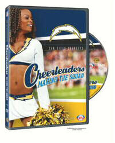 NFL Cheerleaders Making The Squad: San Diego Chargers DVD Image