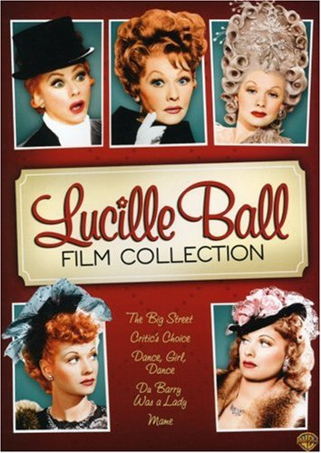 Lucille Ball Film Collection (Dance Girl Dance / The Big Street / Du Barry Was a Lady / Critic's Choice / Mame) DVD Image