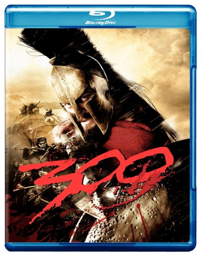 300 (Widescreen/ Blu-ray) DVD Image
