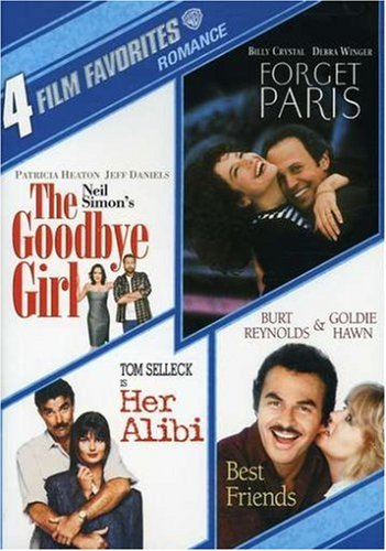 4 Film Favorites: Romance: Her Alibi / Forget Paris / The Goodbye Girl / Best Friends DVD Image