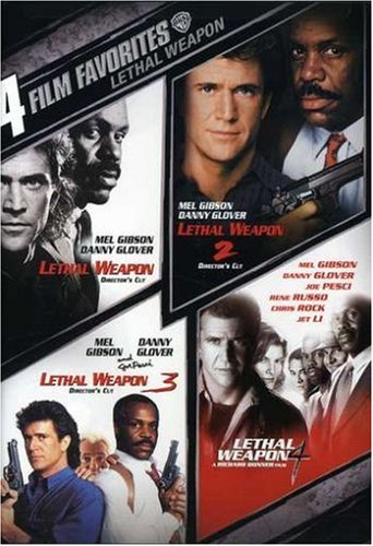 4 Film Favorites: Lethal Weapon (Director's Cut) / Lethal Weapon 2 (Director's Cut) / Lethal Weapon 3 (Director's Cut) / ... DVD Image