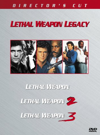 Lethal Weapon Legacy: Lethal Weapon (Director's Cut) / Lethal Weapon 2 (Director's Cut) / Lethal Weapon 3 (Director's Cut) DVD Image
