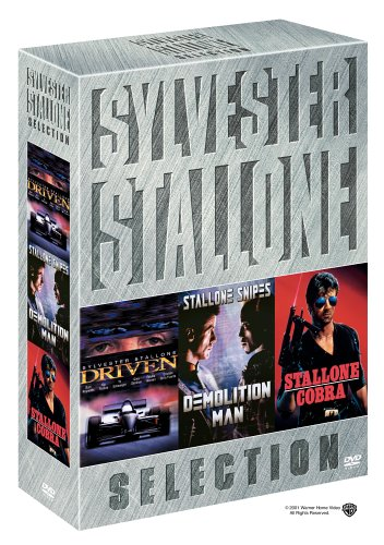 Sylvester Stallone Collection: Cobra (1986/ Special Edition) / Driven / Demolition Man DVD Image
