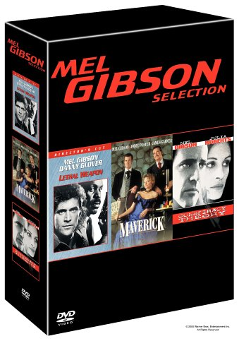 Mel Gibson Selection: Lethal Weapon / Maverick / Conspiracy Theory DVD Image