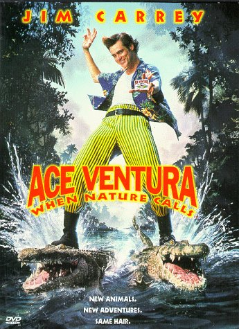 Ace Ventura: When Nature Calls (Old Version) DVD Image