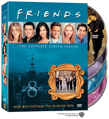 Friends: The Complete 8th Season DVD Image