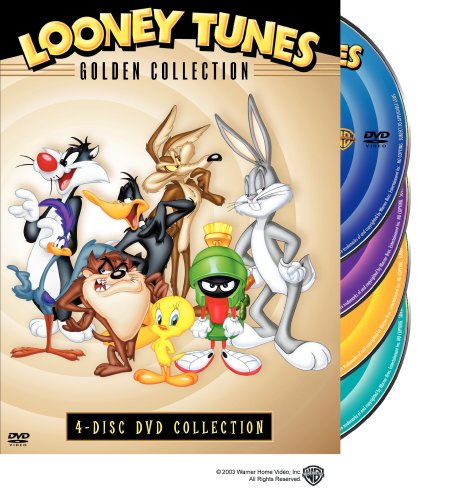 Looney Tunes: The Golden Collection, Vol. 1: Baseball Bugs / Rabbit Seasoning / Long-Haired Hare / High Diving Hare / ... DVD Image