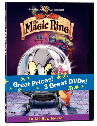 Tom And Jerry Collection: Tom And Jerry: The Movie / Tom And Jerry's Greatest Chases / Tom And Jerry: The Magic Ring DVD Image