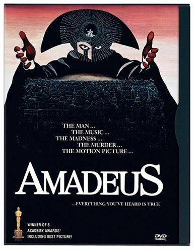 Amadeus (Warner Brothers/ Movie-Only Edition) DVD Image