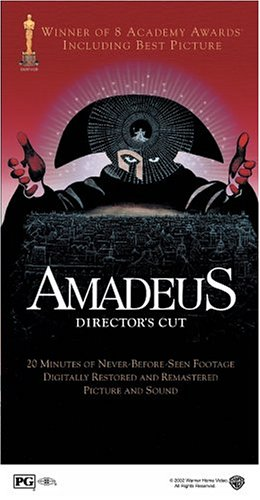 Amadeus (Warner Brothers/ Special Edition/ Director's Cut) DVD Image