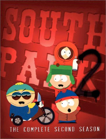 South Park: The Complete 2nd Season (Warner Brothers) DVD Image