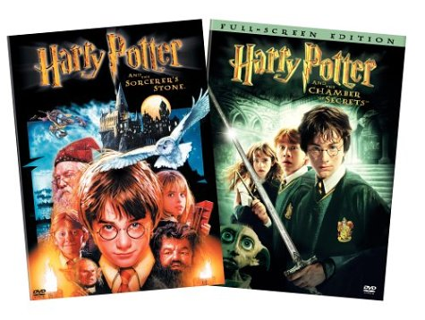 Harry Potter And The Sorcerer's Stone (Special Edition/ Pan & Scan) / Harry Potter And The Chamber Of Secrets (Pan & Scan) DVD Image