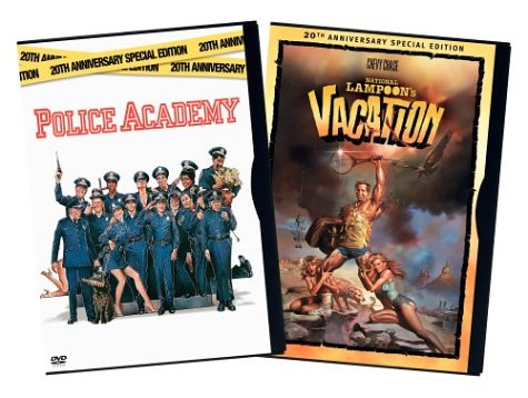 Police Academy (Widescreen/ 20th Anniversy Special Edition) / National Lampoon's Vacation (20th Anniversary Special Edition) DVD Image