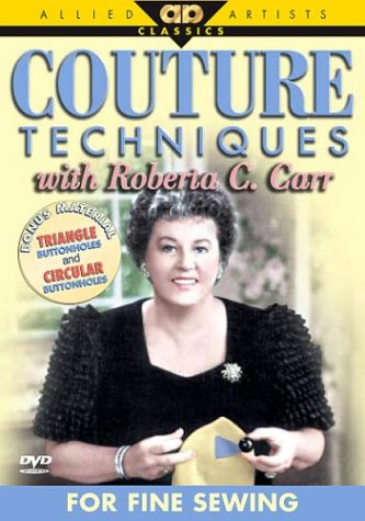 For Fine Sewing: Roberta Carr DVD Image