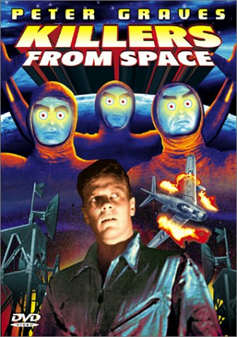 Killers From Space DVD Image