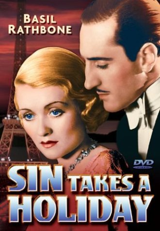 Sin Takes A Holiday DVD Image