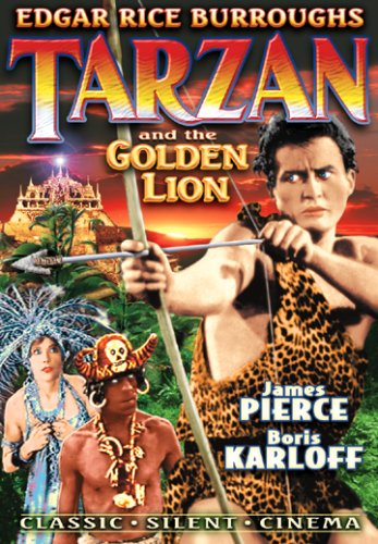 Tarzan and the Golden Lion DVD Image