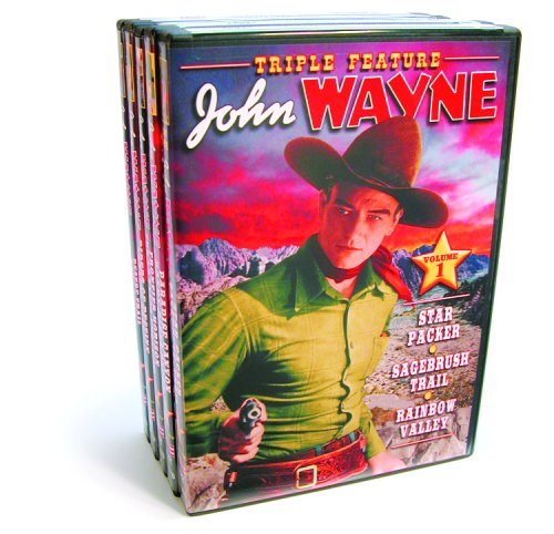 John Wayne: Classic Westerns Collection, Vol. 1: Star Packer / Sage Brush Trail / Rainbow Valley / Paradise Canyon / ... DVD Image