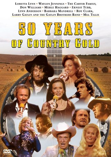 Waylong Jennings: 50 Years Of Country Gold, Vol. 1 DVD Image