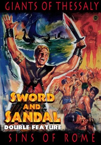 Sword And Sandal Double Feature: Giants Of Thessaly / Sins Of Rome DVD Image