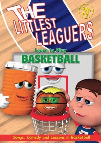 Littlest Leaguers: Learn To Play Basketball DVD Image