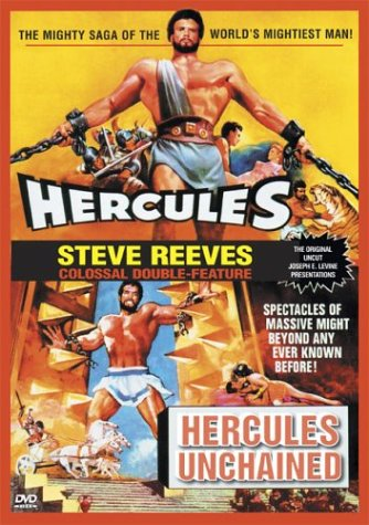 Hercules (1958/ VCI) / Hercules Unchained (Double Feature) DVD Image