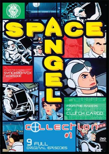 Space Angel: Collection #1 DVD Image
