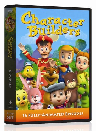Character Builders: Confidence And Love / Goodness & Faith / Honesty & Responsibility / Patience And Peace / ... DVD Image