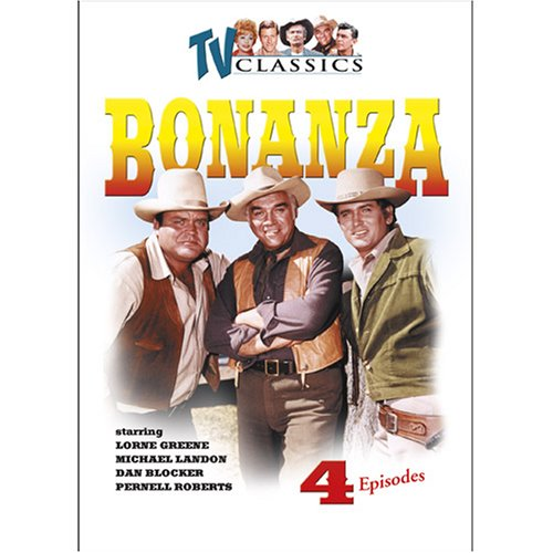 Bonanza (1959/ Platinum), Vol. 1: Feet Of Clay / The Last Viking / Bitter Water / The Savage DVD Image