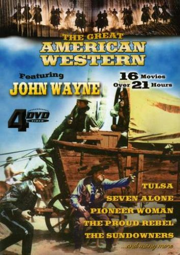 Great American Western, Vol. 01: Angel And The Badman / Helltown / The Desert Trail / Man From Utah / Tulsa / Fair Play / ... DVD Image