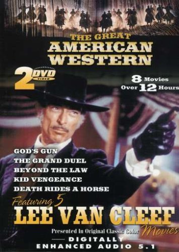 Great American Westerns, Vol. 04: Joshua / Kid Vengeance / Four Rode Out / Cry Blood, Apache / Beyond The Law / ... DVD Image