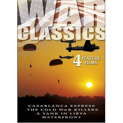 War Classics, Vol. 01: Casablanca Express / The Cold War Killers / A Yank In Libya / Waterfront DVD Image