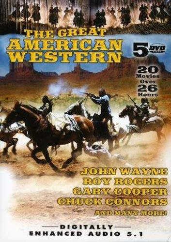 Great American Western, Vol. 04: Angel And The Badman / Hell Town / The Desert Trail / The Man From Utah / Mohawk / Tulsa / ... DVD Image