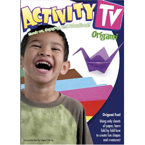 ActivityTV: Origami, Fun With Paper!, Vol. 1 DVD Image